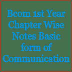 Bcom 1st Year Business Statistics Formula Notes